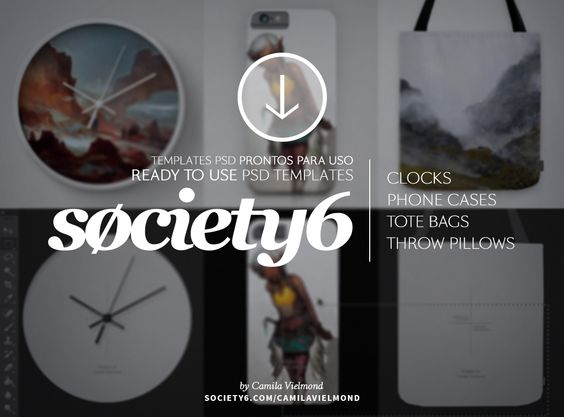 Templates for society 6