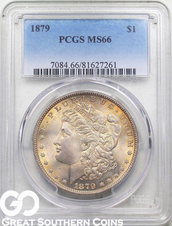 1879 Morgan Silver Dollar PCGS MS 66  RARE This High Grade Wholesale Bid $2500 https://t.co/OZ7dIyFdvf https://t.co/hOGNzUWQ0Y