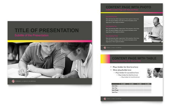 Home Security Systems - PowerPoint Presentation Template Design - sample education power point templates
