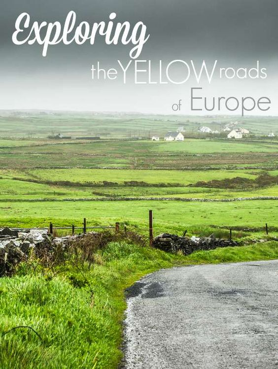 Learn what it means to explore the Yellow Roads of Europe and do it now while the Euro is low!