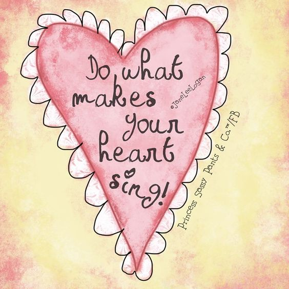 What does your heart desire ?
