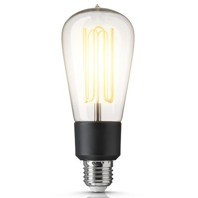 Ampoule Edison CARET - Ampoule type Edison dont les filament ont été remplacés par des tubes basse conso. Elle remplacera vos ampoules sans modifier vos lampes ou installation. Elle est compatible avec la plupart des variateurs. L'ampoule Caret s'intégrera parfaitement à des ambiances Vintage comme à des lampes Design. Totalement polyvalente et bénéficiant d'une durée de vie incroyable jusqu'à 50.000 heures.