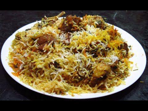Hyderabadi Mutton Dum Biryani Foodland Mumbai Youtube Dum Biryani Biryani Indian Food Recipes
