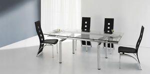 Glastisch Ausziehbar Esszimmertisch Küchentisch ( 628) | eBay