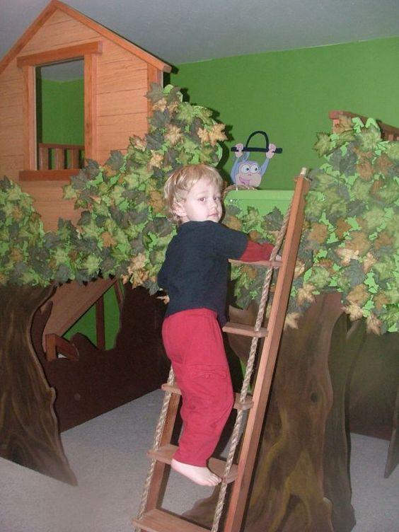 trees nick jr and rope ladder on pinterest. Black Bedroom Furniture Sets. Home Design Ideas