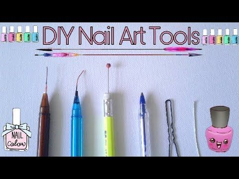 Diy Nail Art Tools How To Make Nail Art Tools At Home Youtube