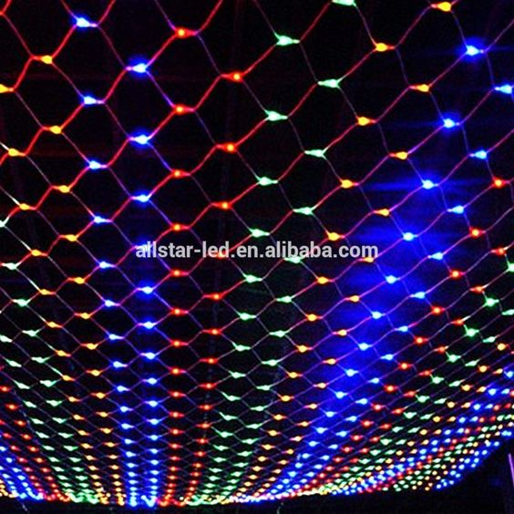 waterproof 15m15m 120 led christmas led net lights fairy lights mesh nets