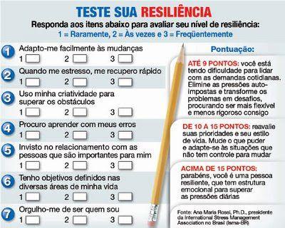 TESTE RESILIENCIA