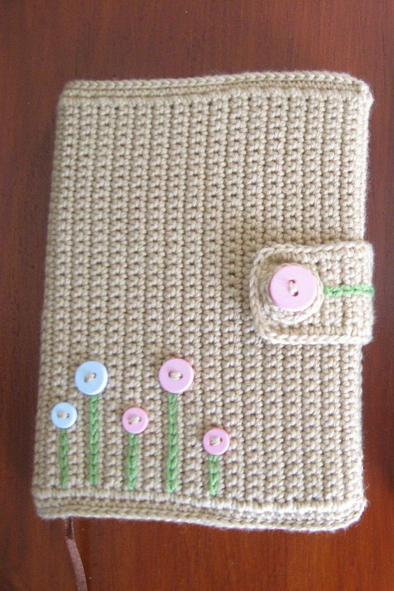 Book Cover Crochet Hook : I crocheted something similar as a cover for my old missal