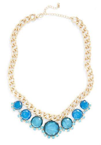BM necklace? | Deep Sea Vibe Necklace, #ModCloth