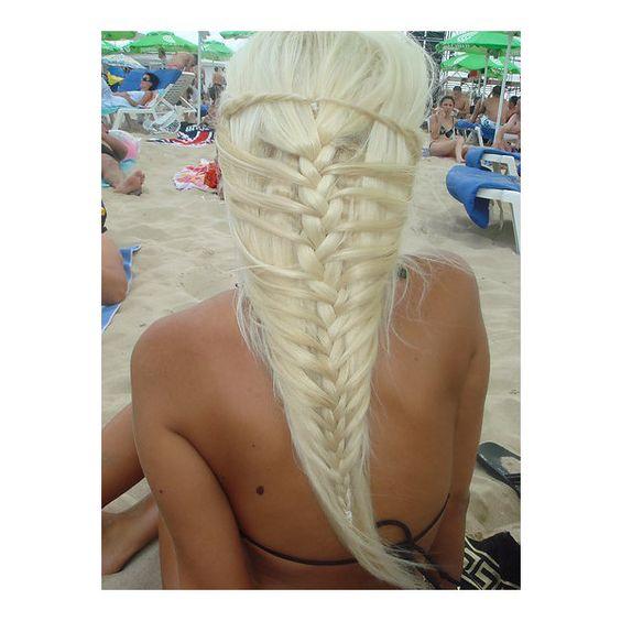 This braid in her hair!