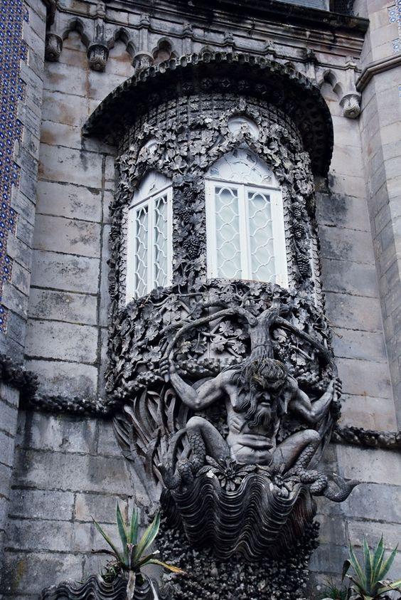 Palacio da Pena.  Sintra, lisboa.