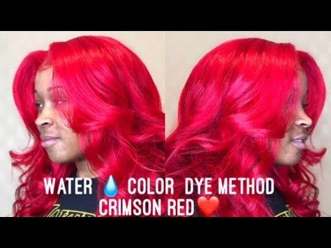 Must Watch How To Watercolor Dye Trendyy Glam Youtube