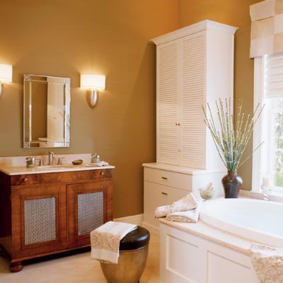 Master Bath - 2004 Idea House: Palm Garden Retreat - Coastal Living