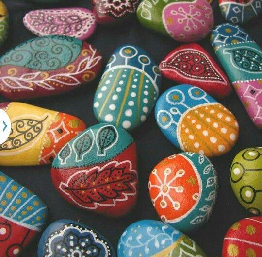 Piedras decoradas