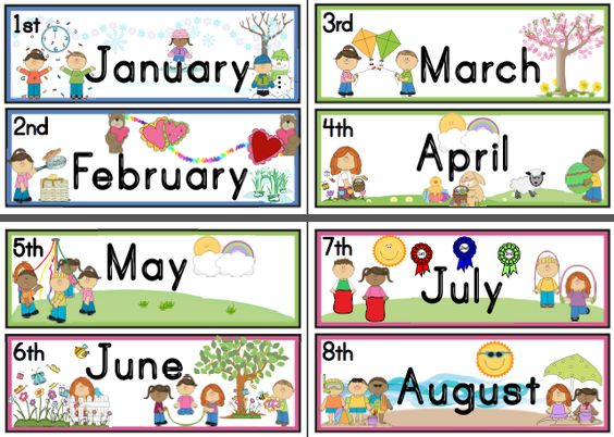 Number Names Worksheets months of the year activities for kindergarten : Numbers and Ordinal numbers on Pinterest