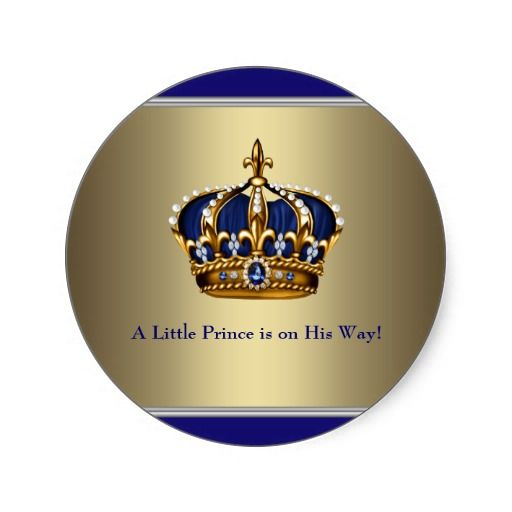 Baby Shower Invitations Prince Crown with nice invitations design