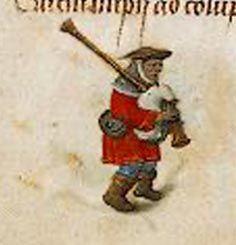 le commerce et les metiers - Vivre au Moyen âge