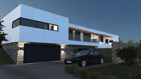 Maison contemporaine architectes a2-Sb