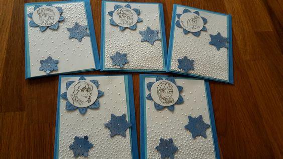 Eiskönigin Party Einladungskarten