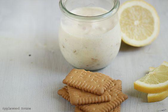 Applewood House - Good food and all things fine: Kein Nachtisch ist auch keine Lösung Milchmädchen Zitronen Creme