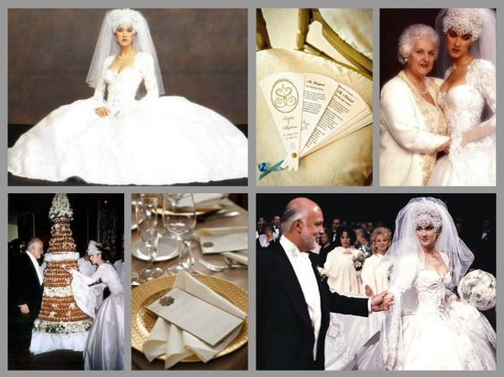 Céline Dion and René Angelil wedding