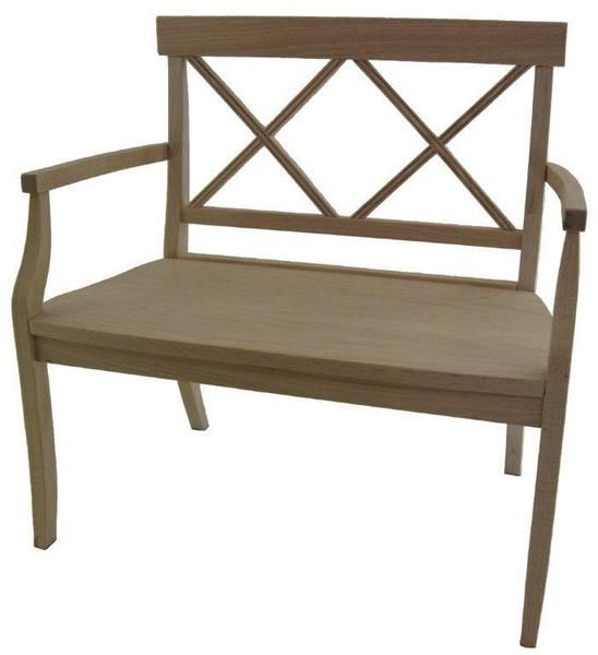 Amish Cross Back Bench Amish Furniture Furniture Bench Furniture