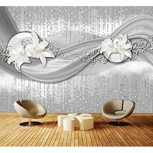 Murando Fototapete Blumen Lilien 350x245 Cm Vlies Tapete