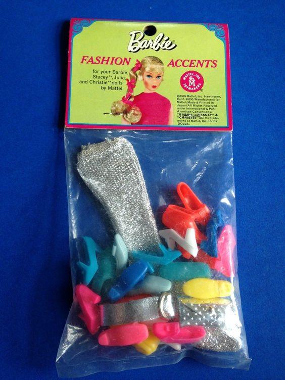 Vintage 1970 1974 Mattel Barbie Sears Exclusive Fashion Accents 1521 SEALED | eBay