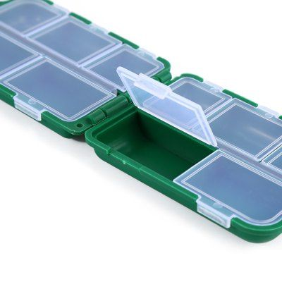 10 Compartments Portable Fishing Tackle Box-1.45 Online Shopping| GearBest.com
