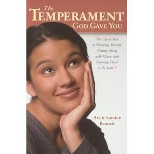"""Meg Matenaer's take on the great book """"The Temperament God Gave You"""" - find hers, and yours too, in this great review."""