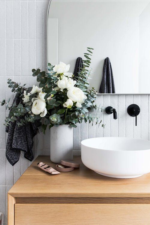 Floral Bathroom Ideas