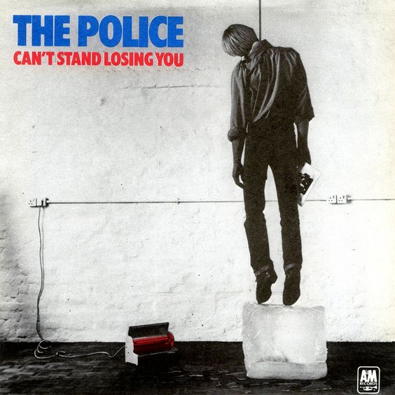 The Police – Can't Stand Losing You (single cover art)