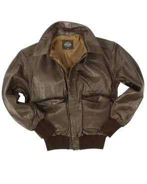 Flight jacket A2 - bruin leder