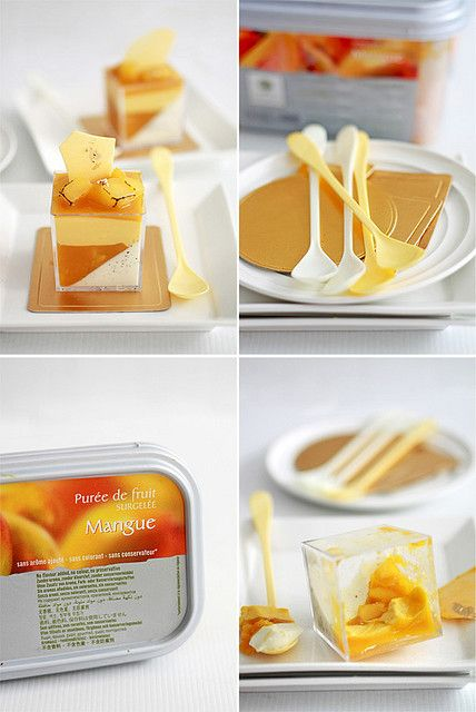 Mango Panna Cotta Verrine by bossacafez