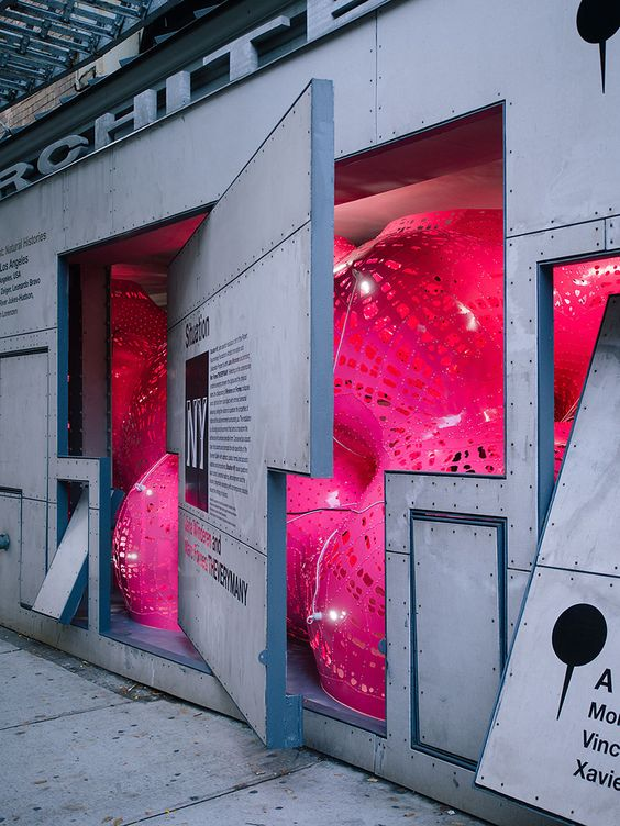 he Situation Room, an installation aiming for reflection around the contemporary conditions emerging between the digital and the physical realms  The form is an assemblage of twenty spheres of incremental diameters, combined to create an envelope of experimental tension.  The result is a spatial experience in an environment of transducers and lighting sources through minimal streams