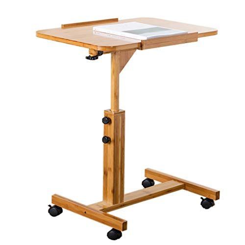 Nss Laptop Table It Can Move Bamboo Bedside Desk Simple Folding Small Table Portable Desk Color 60cm Simple Desk Adjustable Height Table Laptop Table