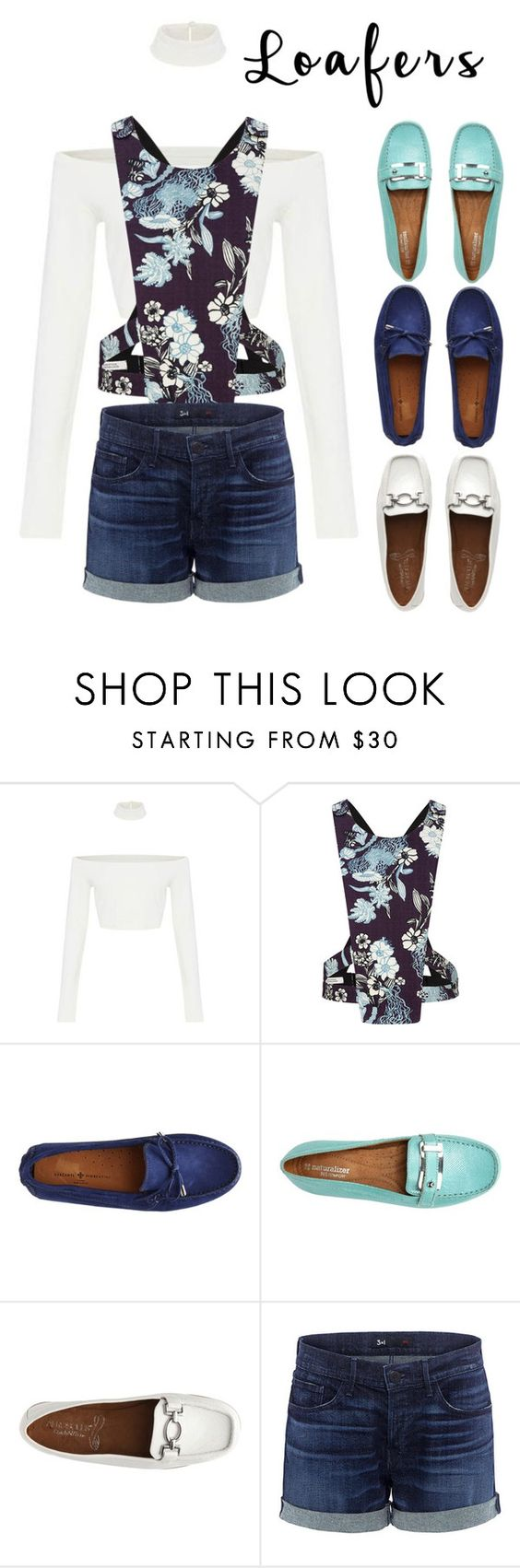 """""""Loafer: a blue autumn"""" by carolycia on Polyvore featuring moda, Dorothee Schumacher y 3x1"""