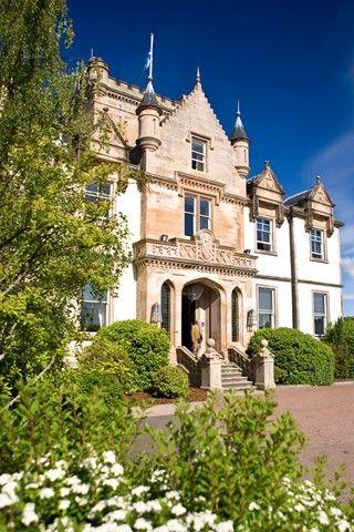 Cameron House, Scotland - always happy to help at the door