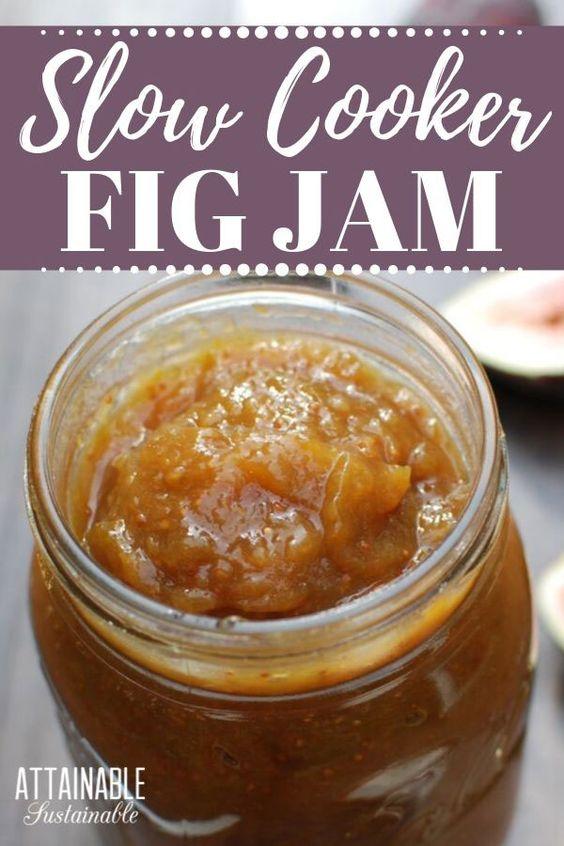 Homemade Small Batch Fig Jam
