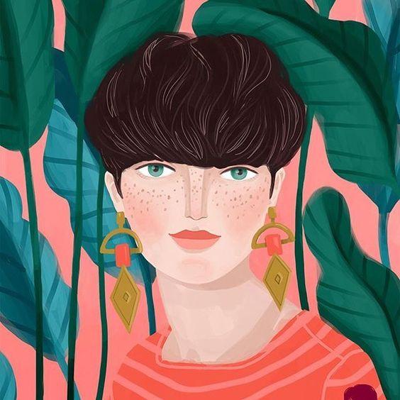 Hoy te traemos una obra llena de color, de mucho color. Se trata de las bellísimas ilustraciones de Petra Braun. ¿Aún no conoces a esta ilustradora? ¡Pues no esperes más! La ilustradora Petra Braun se inspira en la naturaleza, en especial en la jungla, para dibujar sus creaciones, algo que puede observarse en la gran mayoría de sus obras, donde las plantas y animales están siempre presentes de alguna forma. Esta artista nos muestra un mundo salvaje, un mundo lleno de color, de vida, donde los