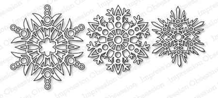 Impression Obsession Snowflakes Die Set by Impression Obsession ($16.99):