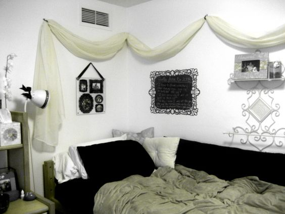 Canopies, Victorian decor and Dorm on Pintere ~ 062429_Dorm Room Canopy Ideas