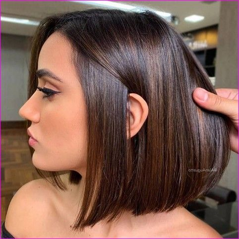 25 Latest Short Hairstyles For Fall Winter 2019 2020 Beauty Hair Style In 2020 Rich Brown Hair Rich Brown Hair Color Long Hair Styles