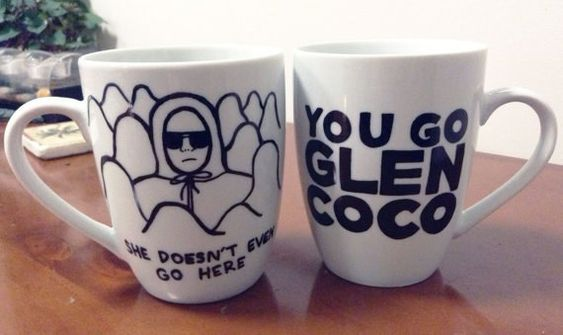 """Mean Girls Assorted Mugs   29 So Fetch Items Every """"Mean Girls"""" Fan Needs Right Now"""