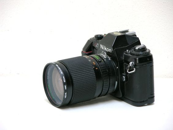 Vintage Nikon 2000 35mm SLR Camera with Zoom Lens by arksendeavors, $85.00