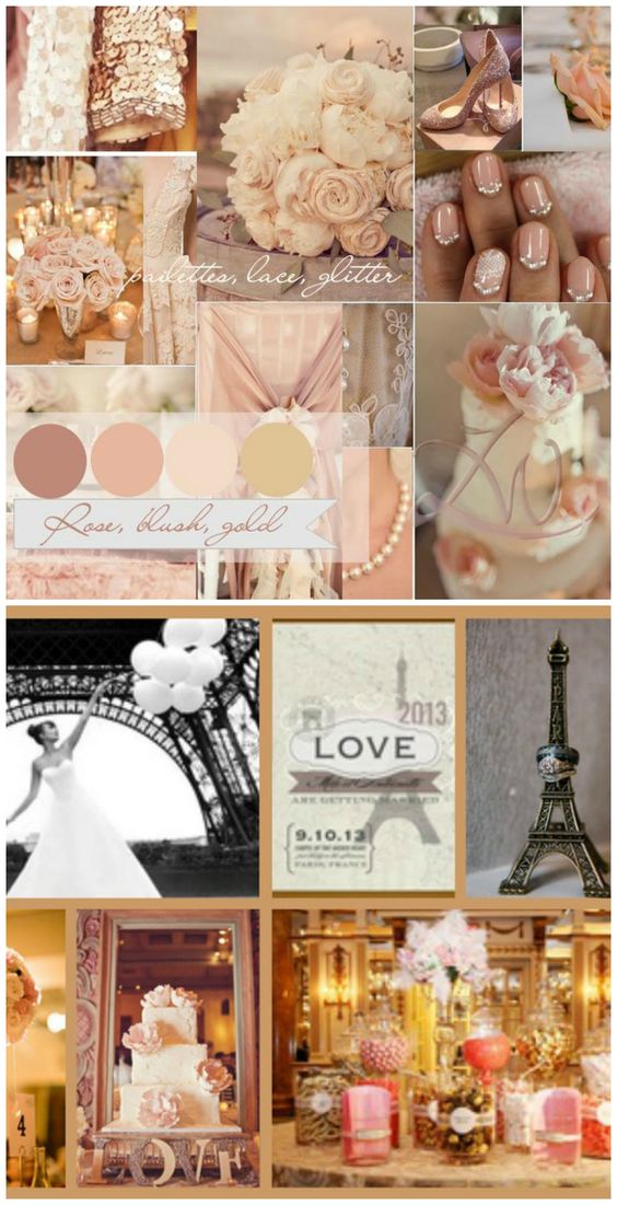 A wedding with a Night in Paris theme. Get more fun party planning ideas at sparklerparties.com