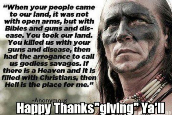 """Happy Thanks """"giving"""" y'all"""