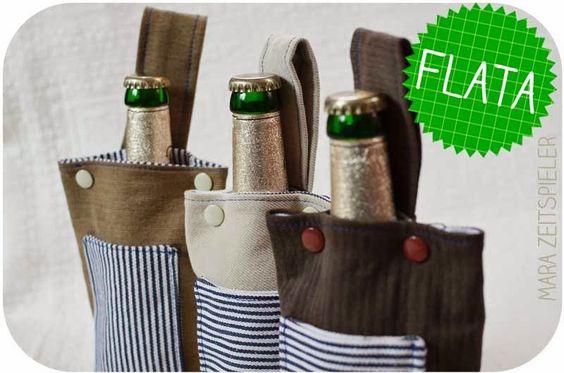 taschenbier oder flata die flaschentasche. Black Bedroom Furniture Sets. Home Design Ideas