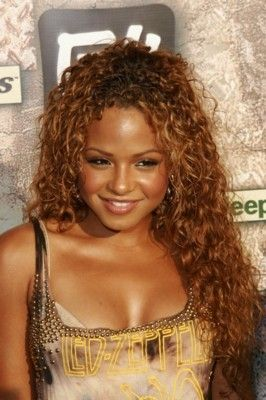 Strange Long Curly Hair Curls And Christina Milian On Pinterest Hairstyle Inspiration Daily Dogsangcom